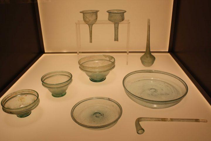 sala dei reperti archeologici da Zara