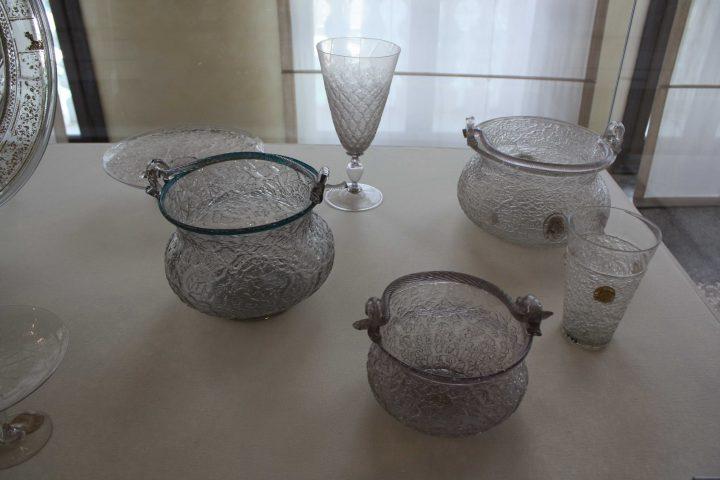 esempi di vetro ghiaccio