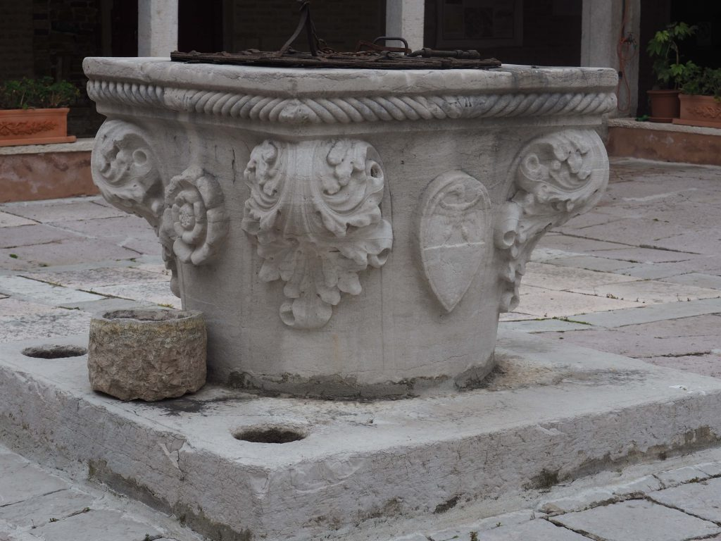 well in the cloister