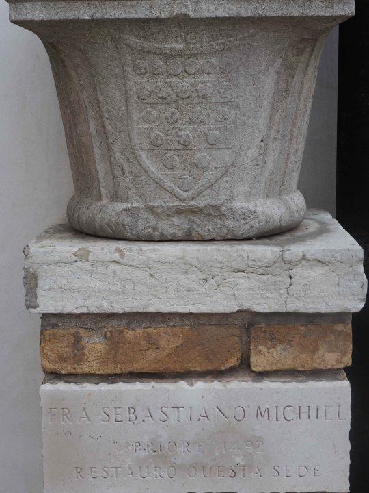 Il Priore Sebastiano Michiel iniziò i restauri a fine del Quattrocento