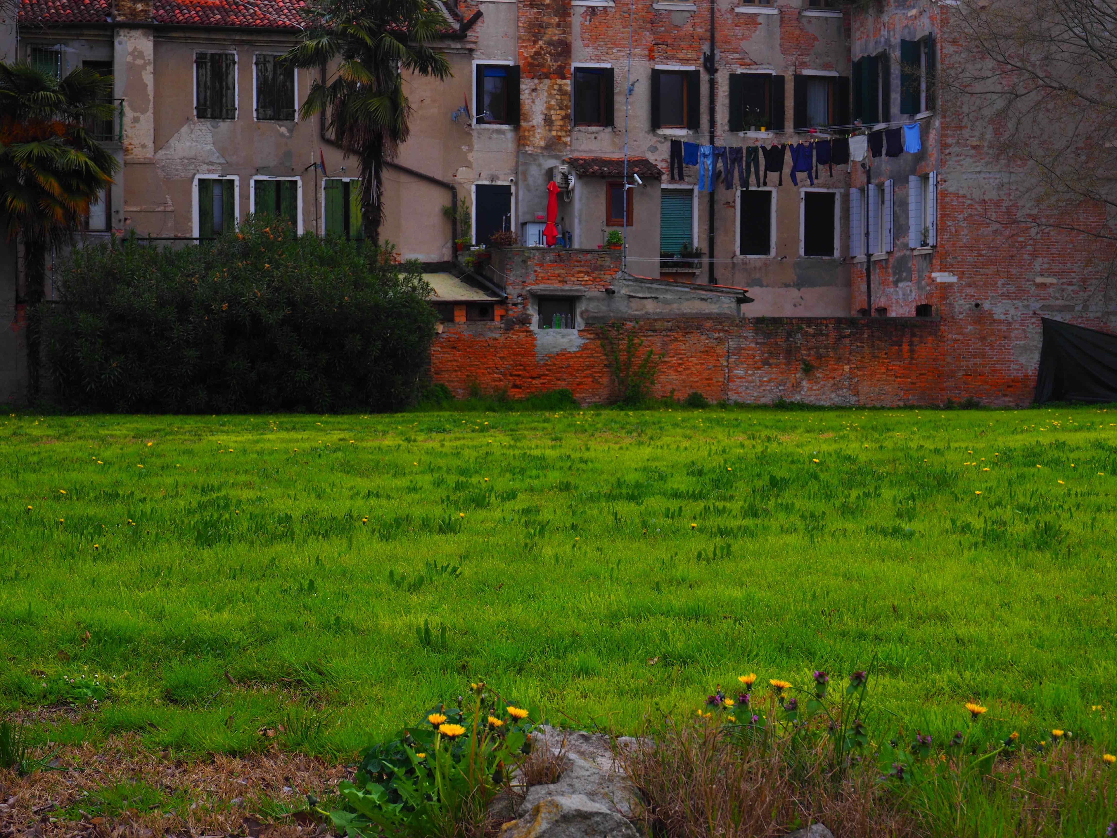 giardino dell'Ordine di Malta a Venezia