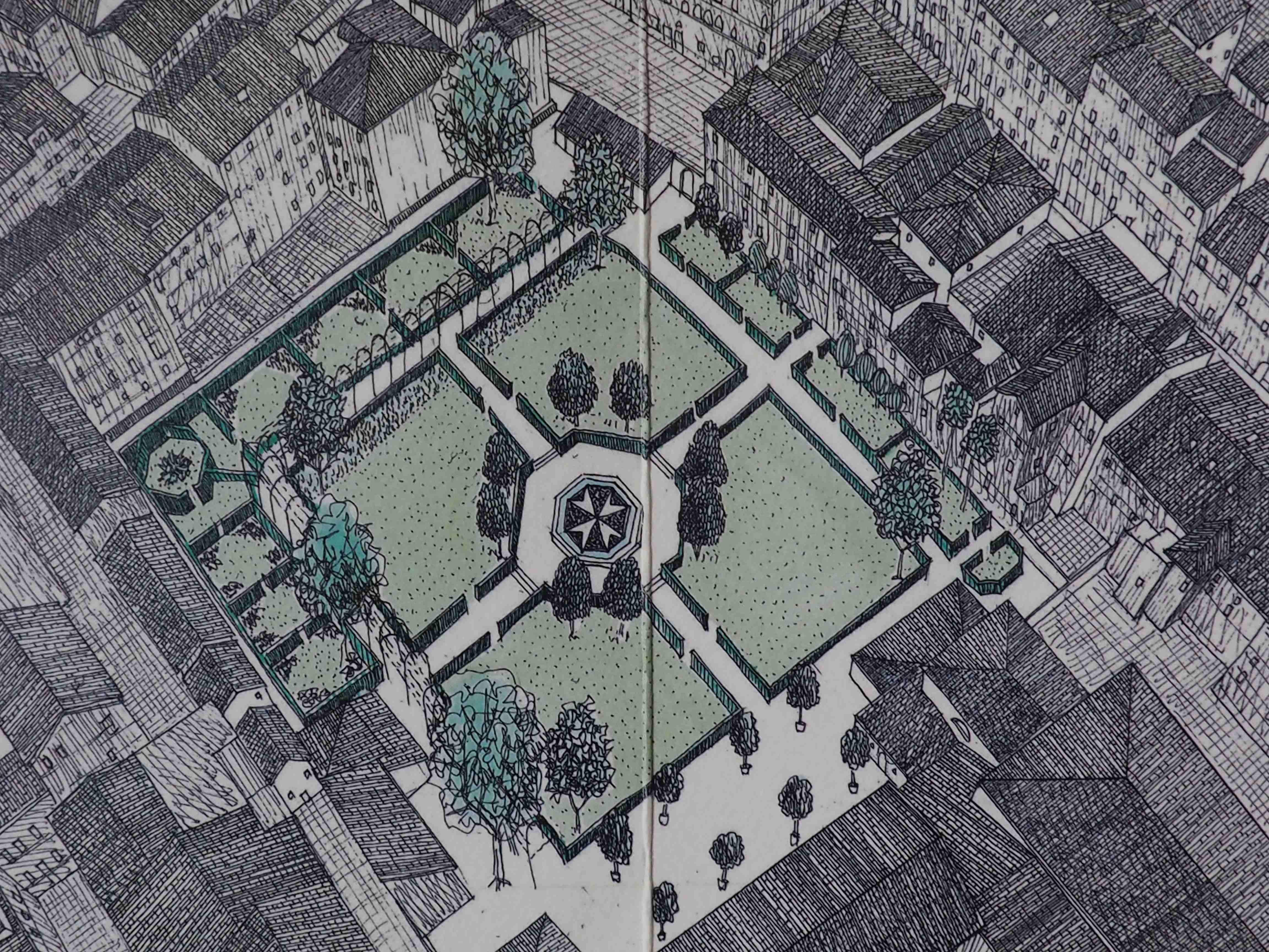 progetto per il giardino