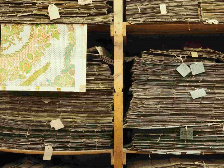 tausende und tausende alte, heute nicht mehr benutzte Lochkarten