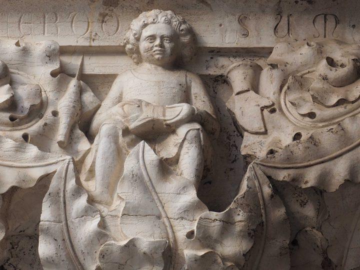 capitello dei mestieri del Palazzo Ducale