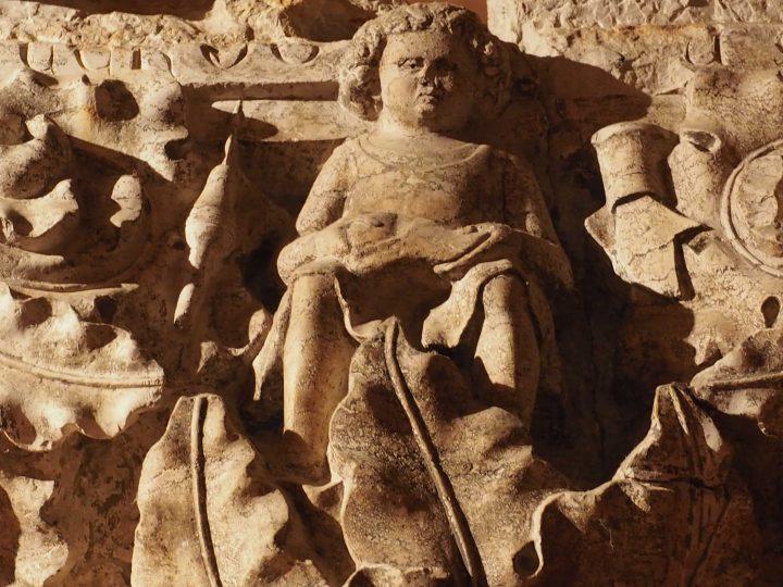 capitello originale dei mestieri del Palazzo Ducale