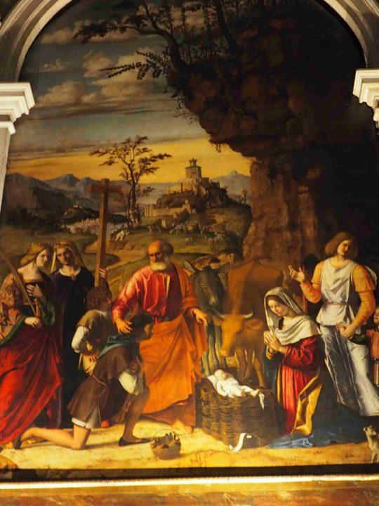 Cima da Conegliano, Natività, chiesa dei Carmini