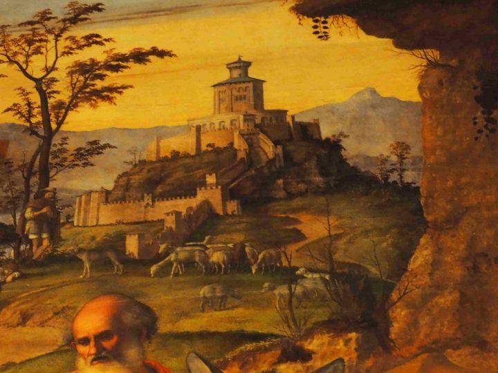 dettaglio, Cima da Conegliano, Natività, chiesa dei Carmini
