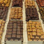 esempi di cioccolatini praline con varie farciture