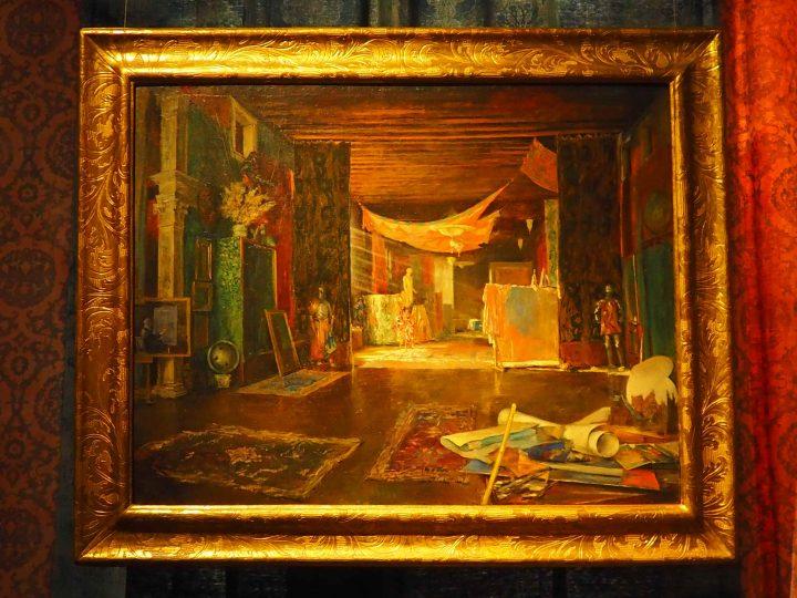 il portego del primo piano, Mariano Y Fortuny