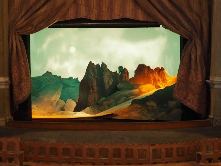 modello per il teatro di Bayreuth
