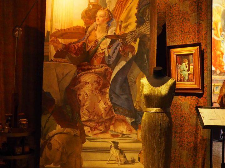 copia della Cleopatra che scioglie la perla nell'aceto di Tiepolo, 1941