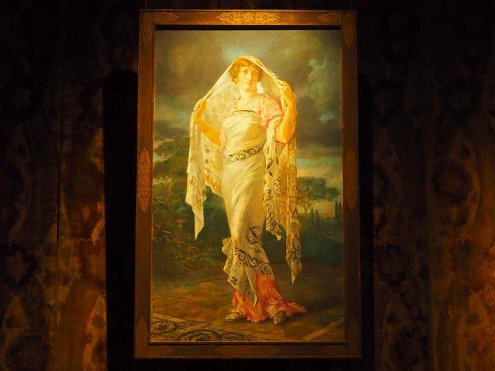 ritratto di Henriette Negrin in stile pompeiano, 1935