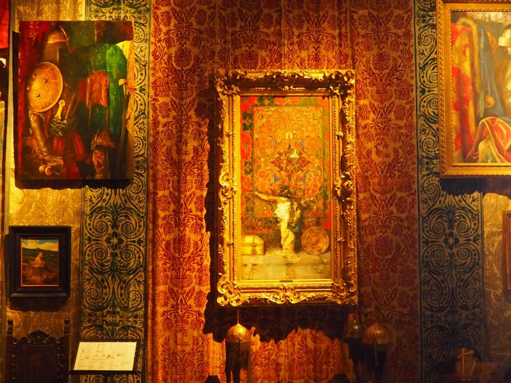 arabo davanti al tappeto, Mariano Y Marsal