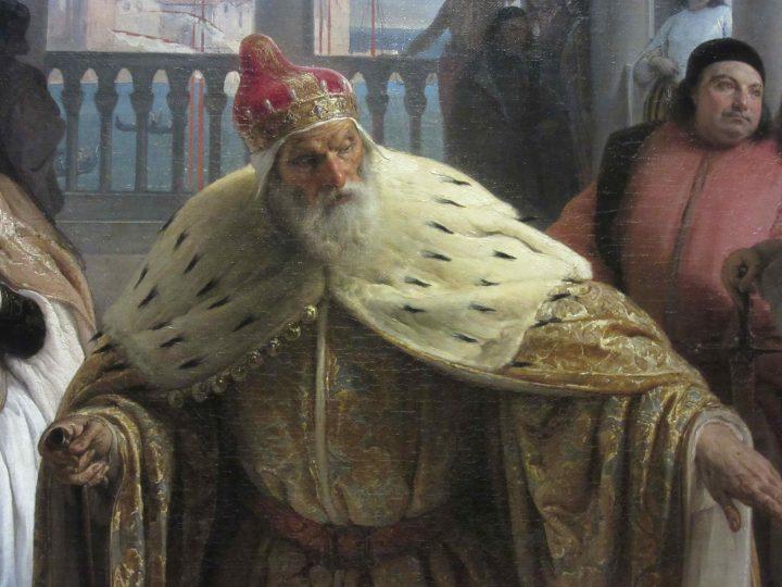 dettagli dell'ultimo abboccamento di Jacopo Foscari