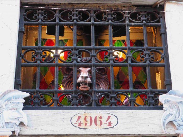 Ca' del Sol, mask atelier in Venice, the address Castello 4964