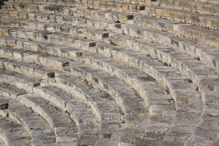 magnificent Greek-Roman theatre in Kourion, 2 BC