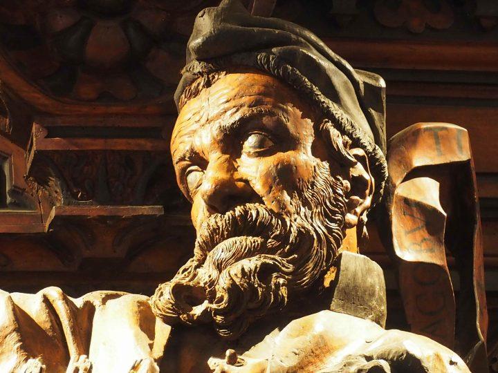 detail, Scuola Grande di San Rocco, Francesco Pianta
