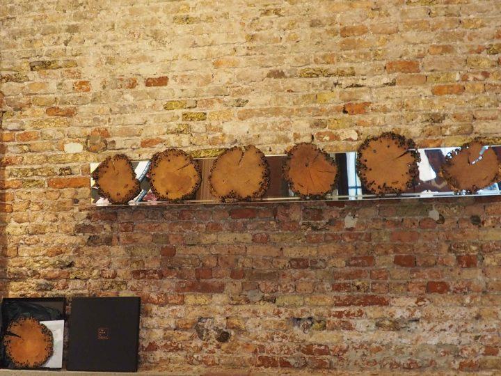 entrance to Lunardelli's showroom in Venice
