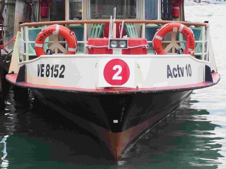 ACTV public boat line no. 2