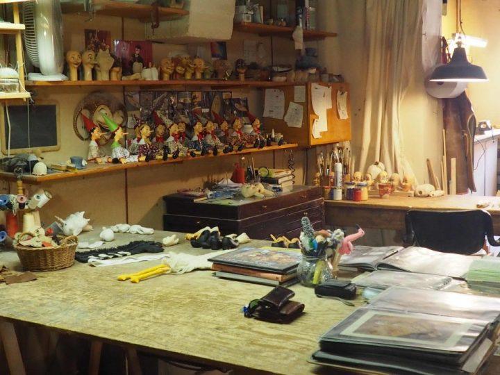 Roberto's atelier
