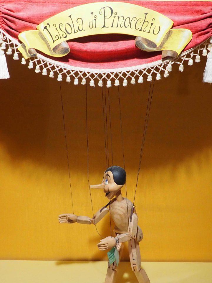 L'isola di Pinocchio in Venice