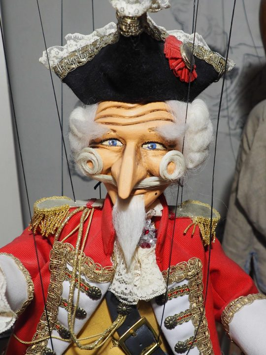 Baron of Munchausen, detail