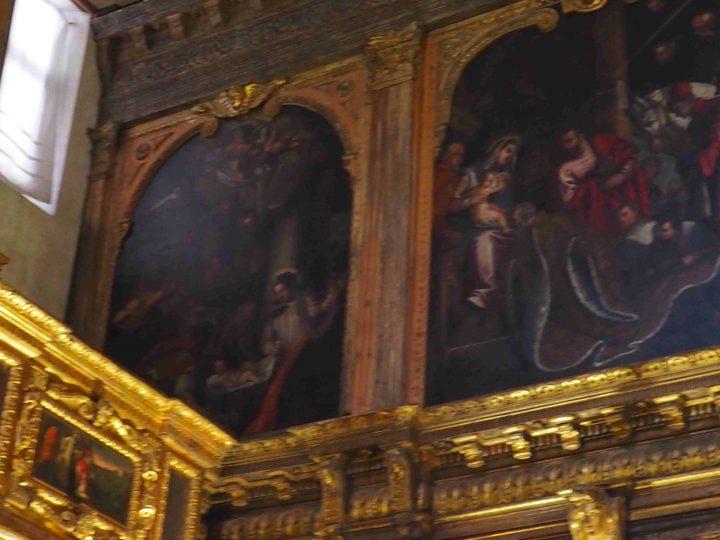 Alvise Benfatto, Adorazione dei pastori, chiesa di San Nicolò dei Mendicoli