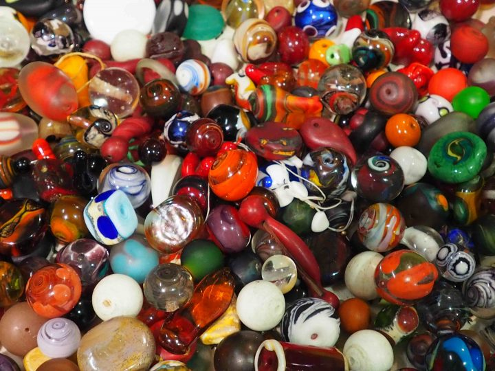 some of Moulaye's beads