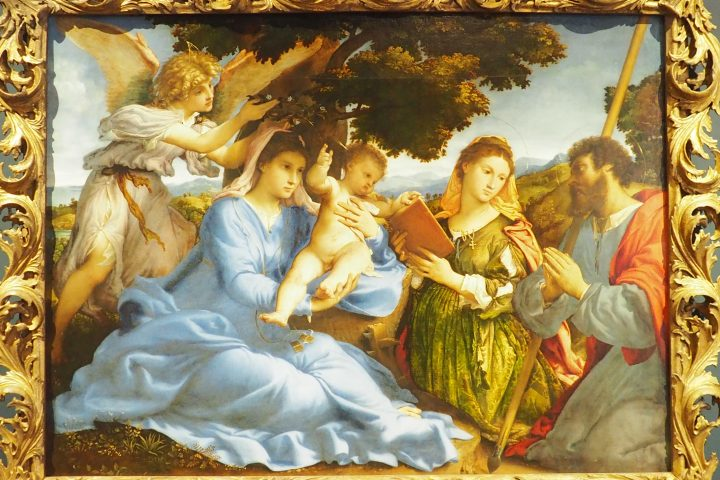Sacra Conversazione, Lorenzo Lotto, kunsthistorisches Museum, Vienna