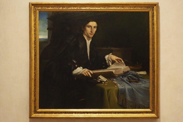 Ritratto di giovane gentiluomo, Lorenzo Lotto, Gallerie dell'Accademia, Venezia