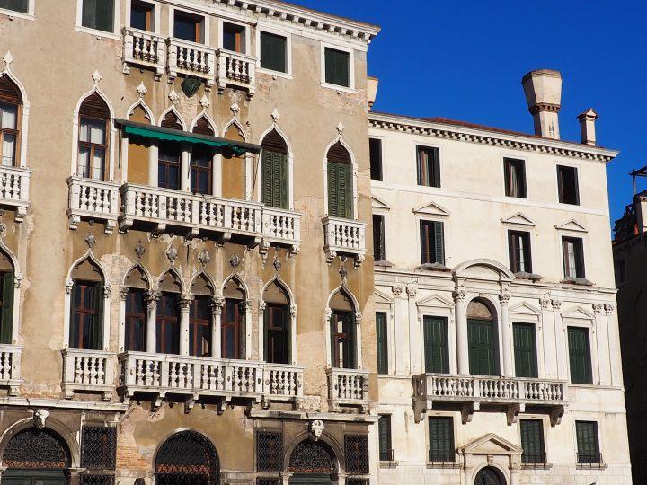 Palazzo Michiel dal Brusà and Palazzo Balbi on the Grand Canal
