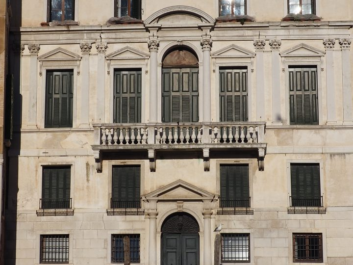 Palazzo Balbi on the Grand Canal