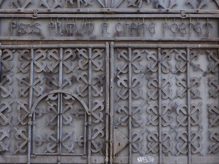 dettaglio della porta di Bellotto