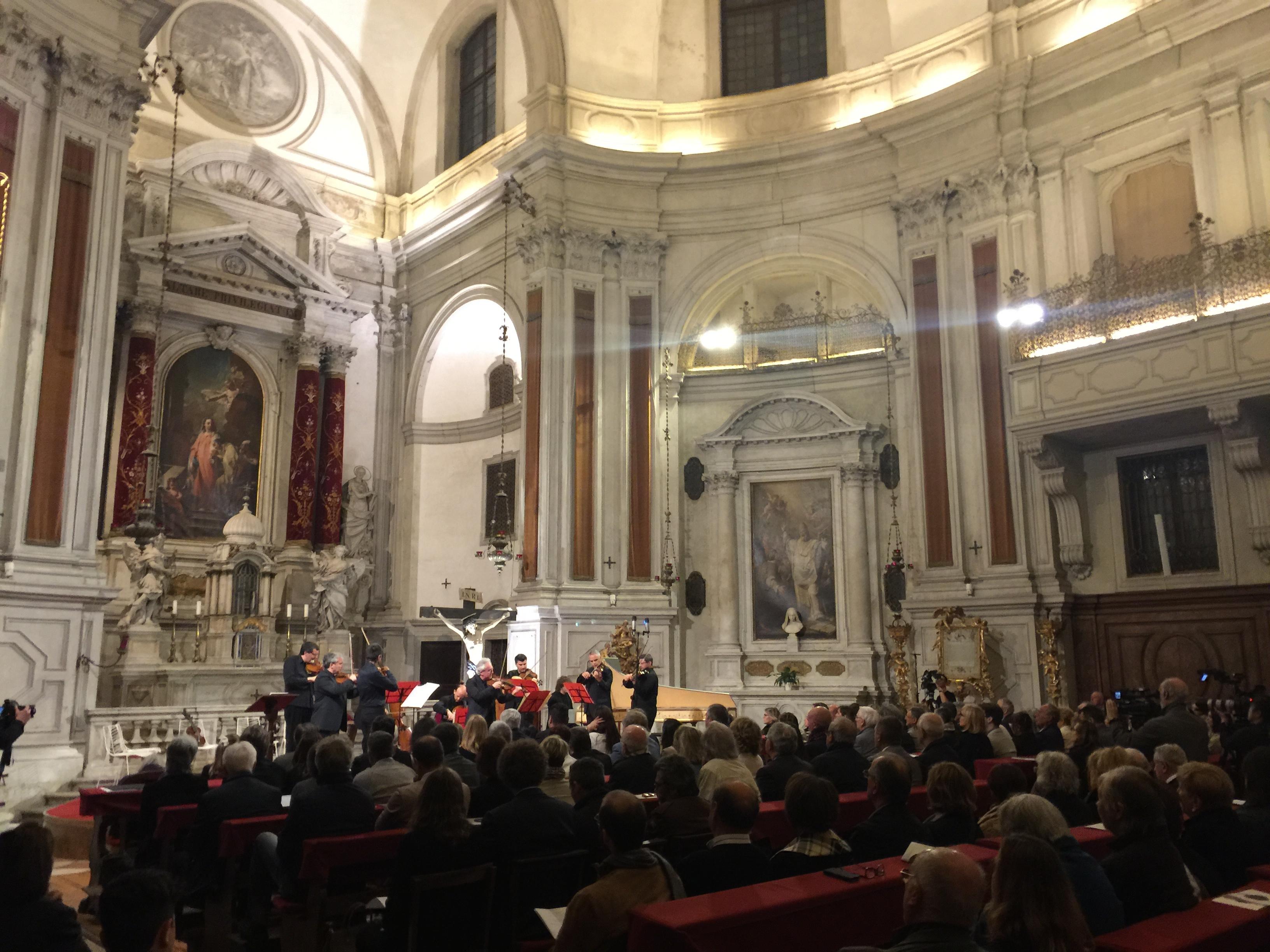 Konzert am 5. Mai 2017 in der Pietà Kirche