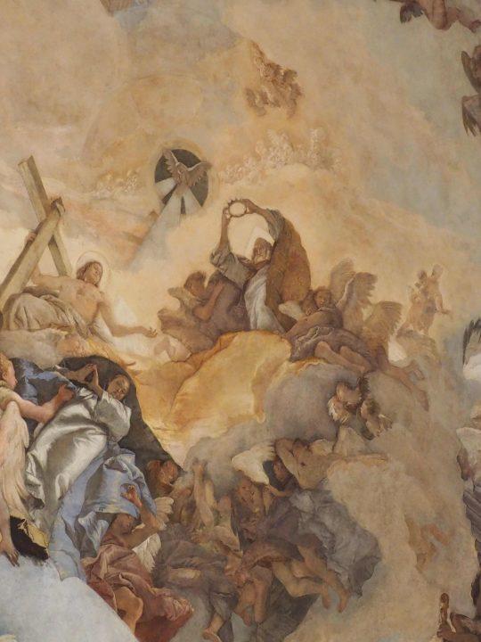 Detail, Die Glorie der Unbefleckten Empfängnis Mariä, Giambattista Tiepolo