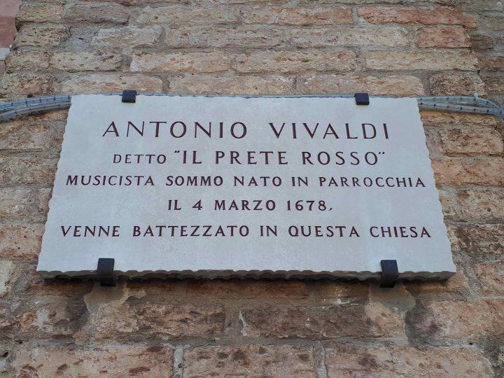 Antonio Vivaldi und die Kirche seiner Nottaufe