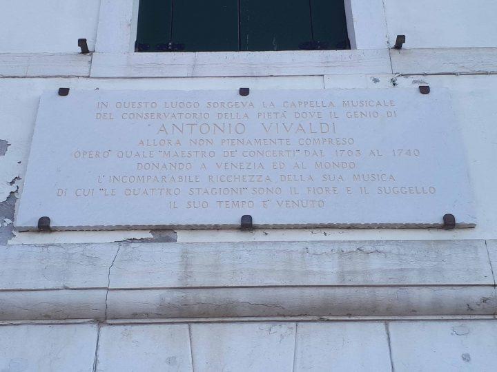 Antonio Vivaldi und das alte Oratorium der Waisenmädchen in Venedig