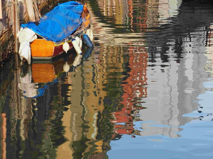 reflections on the water