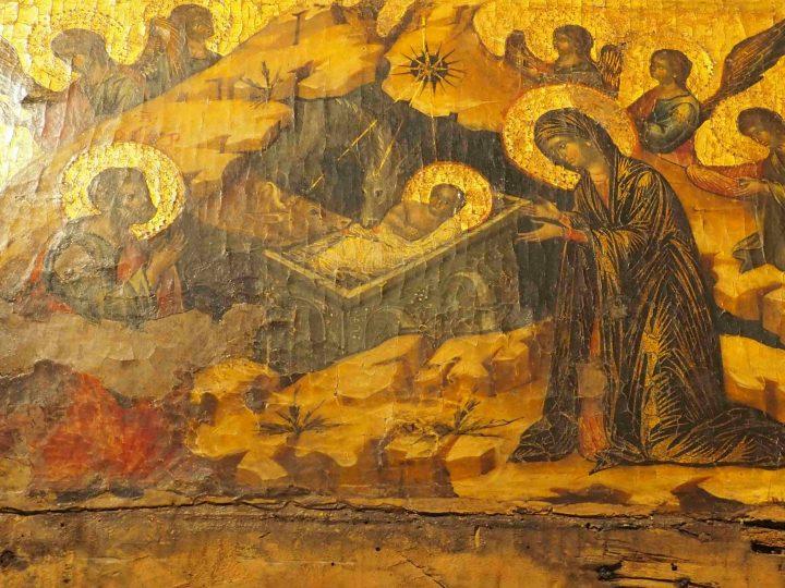 Paolo Veneziano, Polittico con Natività, chiesa di San Pantalon