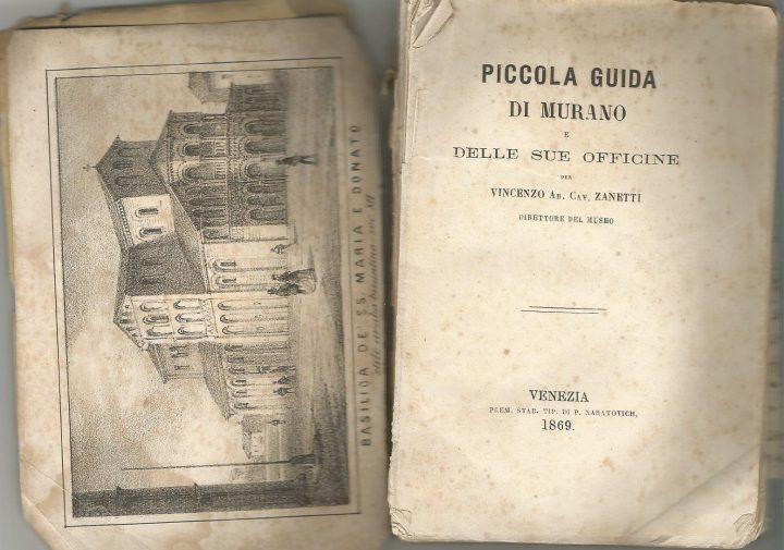 Piccola Guida di Muranoe delle sue officine, Zanetti
