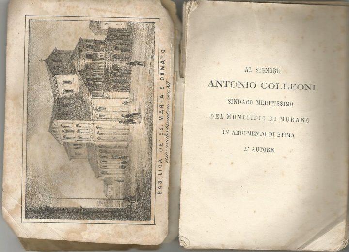 Piccola Guida di Murano e delle sue officine, Zanetti